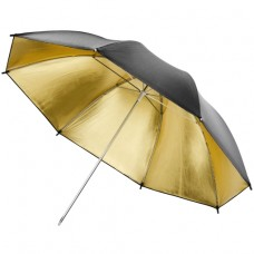 Studijski odbojni dežnik, zlat 84 cm