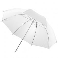 Studijski prosojni dežnik Walimex 84 cm, bel