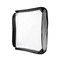 Walimex pro Magic Softbox f. System Flash, 60x60cm