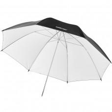 Studijski odbojni dežnik  Walimex pro, belo/črn, 84 cm (W-17657)