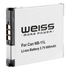Baterija za Canon NB-11L, nadomestna Weiss