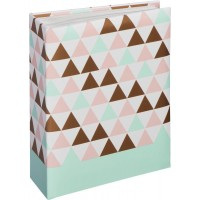 Photo Album Hama Minimax Designline, 10x15 cm, 100 Photos, Triangle, 2474