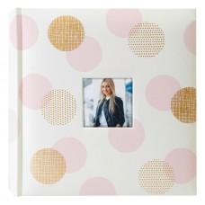 Foto album za fotografije ZEP Elena gold/pink, 24x24 cm, 20 strani NZ2420G (D-546982)