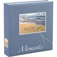 Foto album za slike Hama Livorno 22x22 cm, 200 fotografij 10x15 + CD-žepek, Slip-in Album 10674