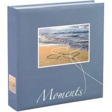 Foto album za slike Hama Livorno 22x22 cm, 200 fotografij 10x15 + CD-žepek, Slip-in Album 10674 (D-683935)