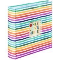 Foto album za slike Hama Rainbow za 200 fotografij 10x15cm, slip in/notes 3817