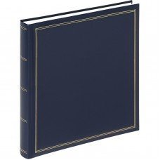Foto album za slike Walther Monza blue, 34x33 cm, 60 belih strani, FA260L