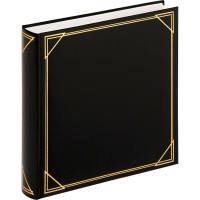 Foto album za slike Walther Standard black, 30x30 cm, 100 belih strani, MX200B