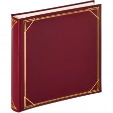 Foto album za slike Walther Standard wine red, 30x30 cm, 100 belih strani, MX200R
