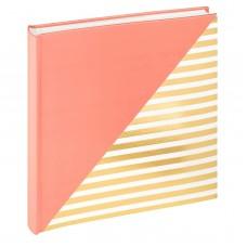 Foto album za slike Walther Unite salmon pink 26x25 cm, 50 belih strani, FA237R