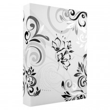 Foto album ZEP Umbria White, za 100 fotografij 10x15 cm,  pocket album EB46100W (D-490660)