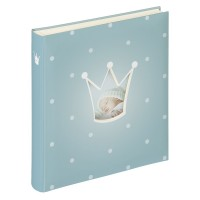 Walther Prince Baby 28x30,5 50 Pages light blue UK121L, photo album