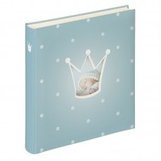 Otroški foto album za fotografije Walther Prince Baby 28x30,5 50 Pages light blue UK121L