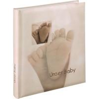 Otroški foto album za slike Hama Baby Feel, 29x32 cm, 60 belih strani, 90111