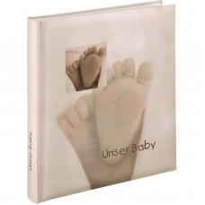 Otroški foto album za slike Hama Baby Feel, 29x32 cm, 60 belih strani, 90111 (D-179144)