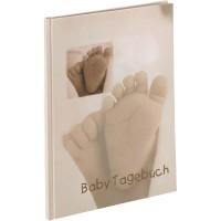 Otroški foto album za slike Hama 'Baby Feel' Baby-Diary, 20.5x27 cm, 44 strani, 90115