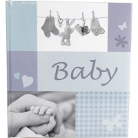 Otroški foto album za slike Henzo Jessy blue Baby  28,5x30 60 strani
