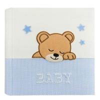 Otroški foto album za slike ZEP Elisa blue 24x24 cm, 20 strani, Baby Album DL2420BL