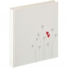 Poročni foto album za slike Walther Bleeding Heart 28x30,5 50 white Pages Wedding UH202