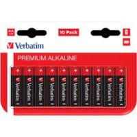1x10 Verbatim Alkalna baterija Micro AAA LR 03 49874