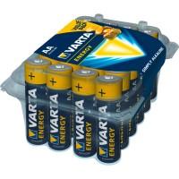 1x24 Varta Energy alkalna baterija Mignon AA LR 06 Promotion Box