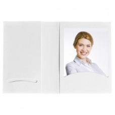 Daiber portrait folders with CD archieve or photos 10x15 cm, white