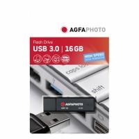 AgfaPhoto USB 3.0 stick, black, 16GB