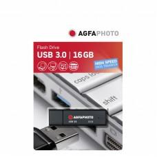 AgfaPhoto USB 3.0 ključek, črn, 16GB
