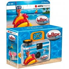 AgfaPhoto LeBox Ocean kamera s filmom za enkratno uporabo (D-174993)