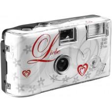Aparat s filmom za enkratno uporabo Flash 400 27 Love white