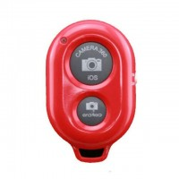 Phone Remote Camera Shutter for Selfie, Bluetooth, Release Button, With Battery