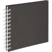 Photo Album Hama Fine Art Spiral black 18,5x15 cm,  30 white Pages 2719