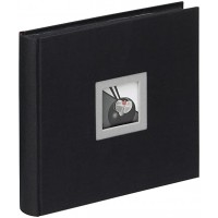 Photo Album Walther Black & White, 10x15cm, 60 Photos Slip-In, ME-209