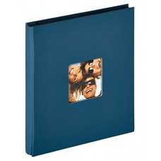 Photo Album Walther Fun blue, 10x15cm, 400 Photos, Slip-In, pocket album, EA110L