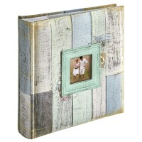 Foto album za slike Hama Cottage blue, za 200 fotografij 10x15cm Slip-In Album 2453