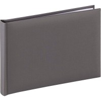 Foto album za slike Hama Fine Art Bookbound gray, 24x17 cm, 36 belih strani, 2783