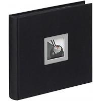 Foto album za slike Walther Black & White za fotografije 10x15 cm, 60 fotografij, Slip-In