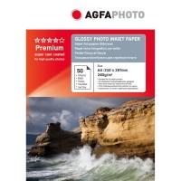 Foto papir AgfaPhoto Premium Glossy Photo Paper 240 g, A4, 50 listov