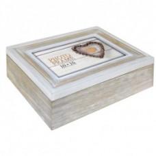 Lesena škatla za shranjevanje fotografij 10x15 cm ZEP Zacapa Wood Fotobox EZ555