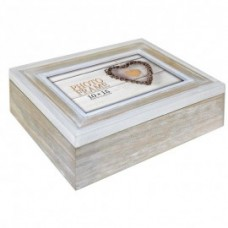 Lesena škatla za shranjevanje fotografij 15x20 cm ZEP Zacapa Wood Fotobox EZ599