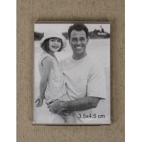 Magnet photo frame for pictures 3,5 x 4,5 cm