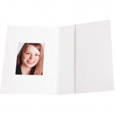 Mapa, etui, zgibanka, album za foto dokumente Chromolux white 31x42 mm, paket 100 kom (D-810206)