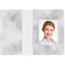 Mapa, etui, zgibanka, album za foto dokumente Cloud design, siva, 36x50 mm, paket 100 kom (D-810185)
