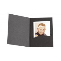Daiber Folders, album for photos up to 13x19 cm, black, Profi-Line