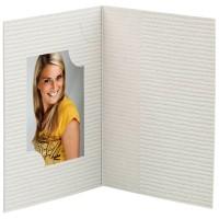 Mapa, etui, zgibanka, album za foto dokumente, siva,  3 velikosti, paket 100 kom