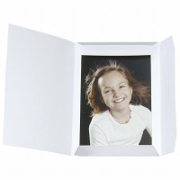 Daiber Portrait folders Sprint-Line 15x20 cm, white