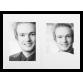 Mapa, zgibanka, album Daiber Portrait s passepartout 10x15 cm, bela mat