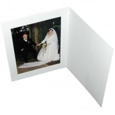 Mapa, zgibanka, album Daiber Portrait s passepartout 15x20 cm, bela mat
