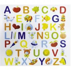 Mapa, zloženka, otroški album ABC, za 2 fotografiji 13x18 cm (prostor za dodatne fotografije) (D-150297-1)