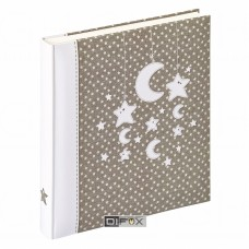 Photo Album Walther Stars & Moon 28x30,5cm, 50 Pages, Baby Buch, UK208